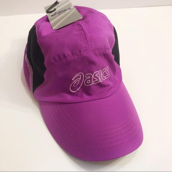 ASICS Running Cap Violet   Black 97199be4ff56